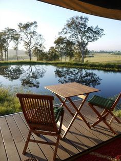 Glamping in the Hunter Valley