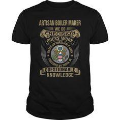 (Tshirt Order) ARTISAN BOILER MAKER WEDO T4 Discount Best Hoodies Tee Shirts