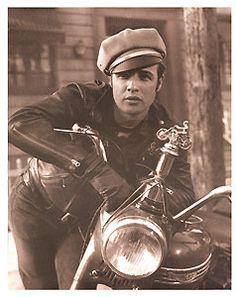Movie Stars of Old Hollywood: Marlon Brando **rumor has it he used to ride his motorcycle through the halls at Brainerd! L-ville lovin'