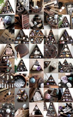 crystals > energy > gems and minerals > elements > spiritual cleanse > gallery collage Healing Stones, Crystal Healing, Crystal Altar, Crystals And Gemstones, Stones And Crystals, Crystal Shelves, Deco Nature, Witch Craft, Witch Aesthetic