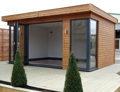 Our aluminium 3 door sliding track system allows the front of the building to be... - Matthias