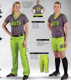SOFTBALL UNIFORMS PICTURES | Worth Softball Uniforms