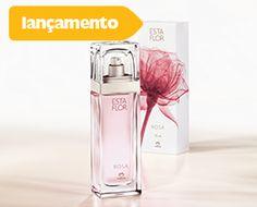 Deo parfum Esta Flor rosa feminino floral   sensual   rosa  A Natura trouxe da Bulgária o ingrediente mais rico, a rosa, para produzir esta nova fragrância, delicada e elegante. Semana que vem você confere aqui todos os argumentos de venda para vender muito esta novidade. Divulgue!  DE R$ 158,00 POR: R$ 110,00