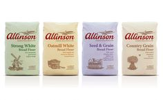 Allinson Flour (Redesigned) on Packaging of the World - Creative Package Design Gallery