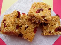 Mary Quite Contrary Bakes: Healthified Rice Krispie Treats