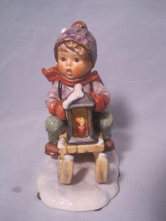 Ride into Christmas Hummel Figurine 396/I  5 3/4  by MyRedFlamingo, $85.00