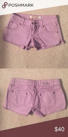 🎉SALE🎉 purple shorts never worn. open to offers! honolua Shorts Jean Shorts