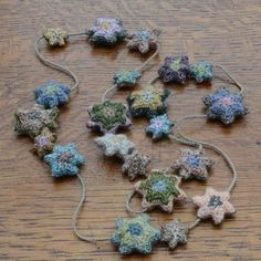 Sophie Digard crocheted star necklace #wearable #art