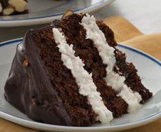 Try the classic flavor of an Almond Joy® candy bar in a moist and tender layer cake that could very well become your new favorite dessert.
