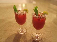 Bloody Mary Earrings by Daun Thompson   $22.00 usd