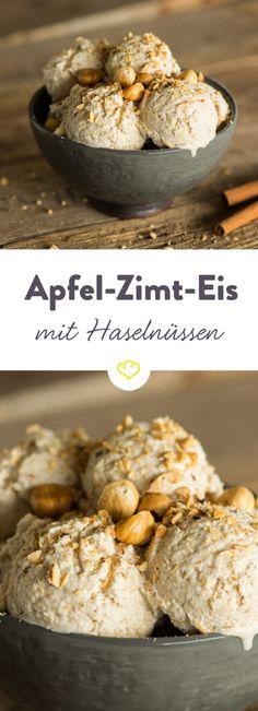 Einfach herrlich, diese Kombination aus Apfel, Zimt und Haselnüssen!