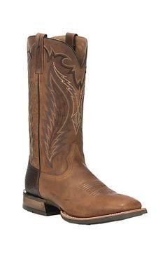 Ariat Men's Top Hand Tan Western Square Toe Boots | Cavender's