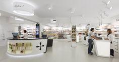 www.concep.es Arquitectura Comercial Diseño de farmacias pharmacy design drug store design