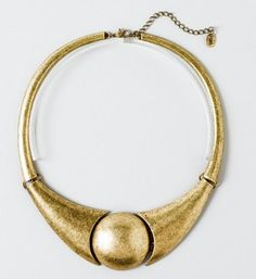 Statement making necklace from Claire's.    http://www.claires.com/store/goods/Teens/cat310092/Dressy/p52760/Art-Gallery-Necklace/