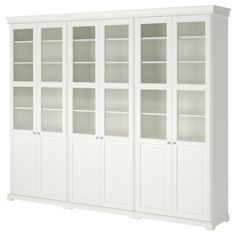 LIATORP Storage combination with doors - IKEA.  Someday I will have a place for this!