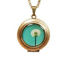 Wish Locket Necklace.