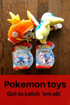 Give fun Pokemon gifts this holiday season! Look for Magikarp and Cyndaquil stuffies and tons of Pokemon action figures in stores now Pokemon Gifts, Pokemon Craft, Pokemon Plush, First Pokemon, New Pokemon, Cool Pokemon, Parent Gifts, Kids Gifts, Pokemon Stuffed Toys