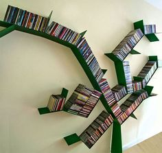 15 Creative Ideas for Bookshelves