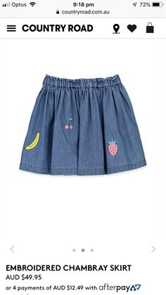 Skirts, they must twirl! Chambray Skirt, Country Roads, Skirts, Style, Swag, Skirt, Gowns, Outfits