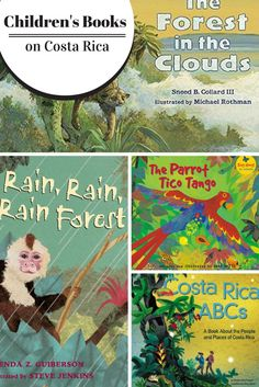 Want to armchair travel before heading to Costa Rica? Check out some of these fun kids books all about the beautiful country of Costa Rica.