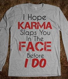 Karma - Young and Free - Skreened T-shirts, Organic Shirts, Hoodies, Kids Tees, Baby One-Pieces and Tote Bags