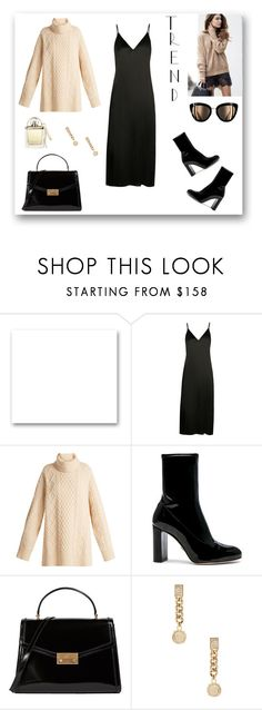 """""""1 Way to Wear a Slip Dress in the Fall/Winter"""" by rboowybe ❤ liked on Polyvore featuring St. John, Raey, Oscar Tiye, Tory Burch, Versace and Chloé"""