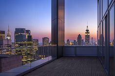 PH loggia with dramatic park and city views