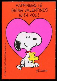 Snoopy & Woodstock Valentine