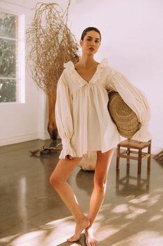 The Poet Shirt - My General Store Australia Poet Shirt, Mode Dope, Classic White Shirt, Summer Outfits, Summer Dresses, Japanese Cotton, Minimal Fashion, Wabi Sabi, Lounge Wear