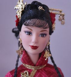 Dolls of the World Chinese Barbie