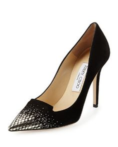 S07S2 Jimmy Choo Avril Degrade Suede Pump