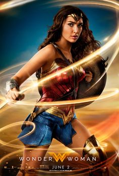 Wonder Woman Movie Poster 27 X 40 Gal Gadot, Chris Pine, F, Licensed Usa & Garden Wonder Woman Film, Gal Gadot Wonder Woman, Wonder Women, Marvel Dc, Captain Marvel, Marvel Comics, Chris Pine, Film Dc, Dvd Film