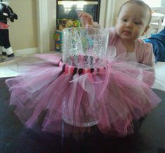 Great idea for decorating glass cylinders for ballet themed party