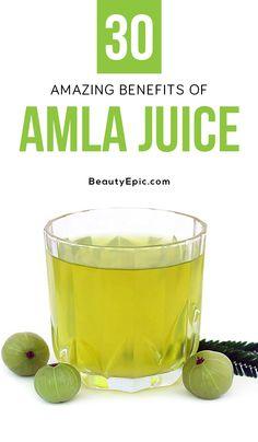 30 Amazing Benefits of Amla Juice Amla Juice Benefits, Juicing Benefits, Health Benefits, Best Smoothie Recipes, Good Smoothies, Nutrition Plans, Diet And Nutrition, Healthy Food Choices, Healthy Life