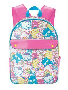 Hello Kitty Backpack Neon Mix