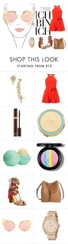 """Ich"" by hkadunic ❤ liked on Polyvore featuring Chanel, Marchesa, Miss Selfridge, Tom Ford, Kate Spade, Moschino, Eos, Schutz, Lodis and Fendi"