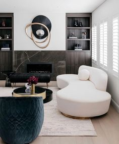 Contemporary living room design is known to have clean lines in the design of its furniture pieces, as well as …