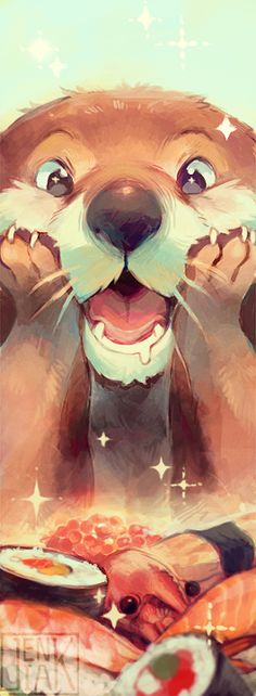 A design for a bookmark I'll be selling at a Finnish convention. 8D Photoshop CS5