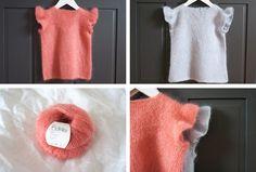 Ullstrikk - The wool knitters blog: FINE FEST-TOPPAR / DRESSY, GIRLY TOPS