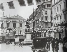 perierga.gr - Αθηναϊκοί δρόμοι πολλά χρόνια πριν! Σταδιου 1930