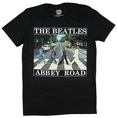 The Beatles Boys Abbey Road T-Shirt 5-6 Years Black