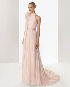 Vestido de novia de Rosa Clará.