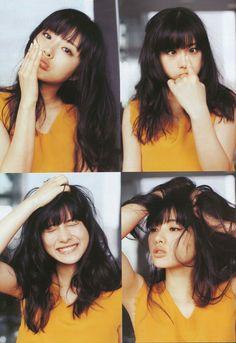 #石原さとみ Satomi Ishihara Japanese Models, Japanese Girl, Satomi Ishihara, Beautiful People, Beautiful Women, Asian Cute, Illustration Girl, Kawaii Cute, Hairstyles With Bangs