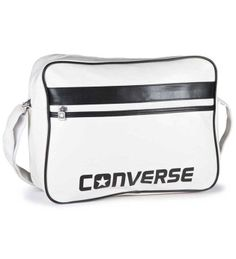 b83f6b23b8 Converse Player PU Messenger Bag - White