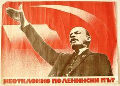 communist propaganda posters | Bulgaria USSR Communist Party Propaganda Poster Lenin | eBay