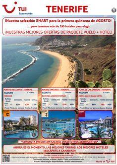 ¡Nuestra selección smart para Agosto! Tenerife. Vuelo+Hotel 7 noches. Precio final desde 436€ ultimo minuto - http://zocotours.com/nuestra-seleccion-smart-para-agosto-tenerife-vuelohotel-7-noches-precio-final-desde-436e-ultimo-minuto/