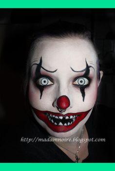 Psycho killer clown   Madam N.'s (madamnoire) Photo   Beautylish