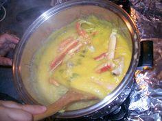 Harina de Maiz Con Patas de Cangrejo (Cuban Polenta with Crab Legs)  La Cocina De Nathan: Cuban, Spanish, Mexican Cooking & More