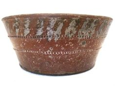 Antique Pennsylvania Redware Bowl AAFA Haycock Bucks County Folk Art Primitive | eBay