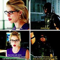 Arrow - Felicity & Oliver #4.6 #Season4 #Olicity